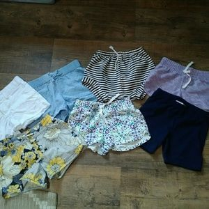 Girls Summer Shorts Bundle